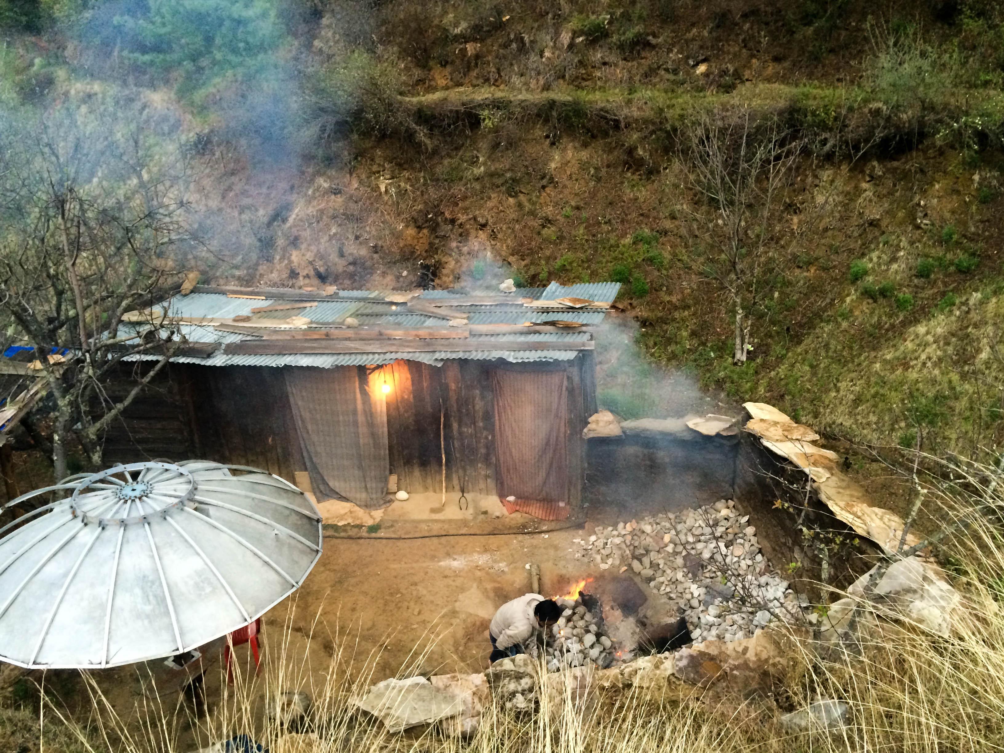 the hot stone bath house